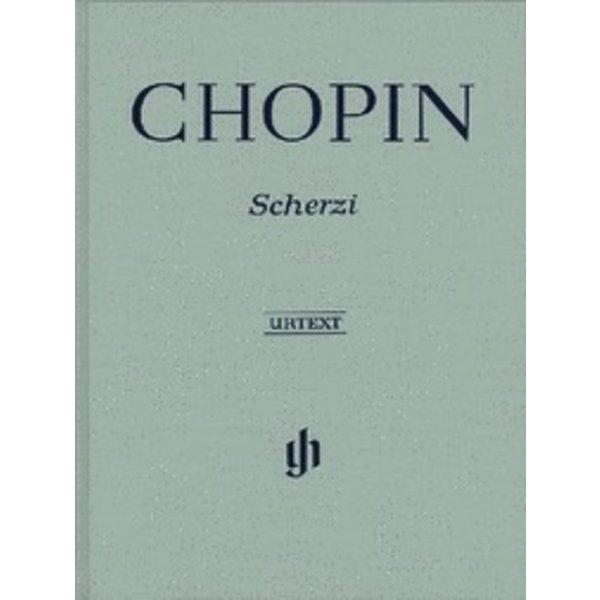 Henle Urtext Editions Chopin - Scherzi Hardcover
