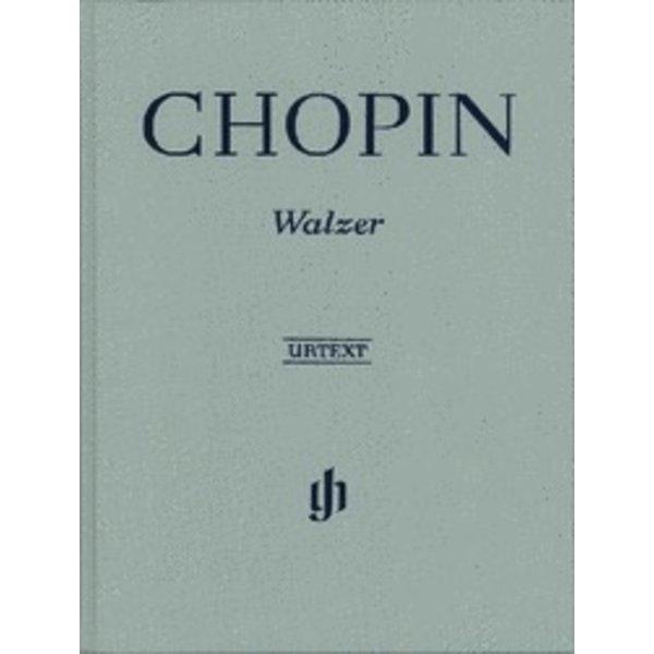 Henle Urtext Editions Chopin - Waltzes Hardcover