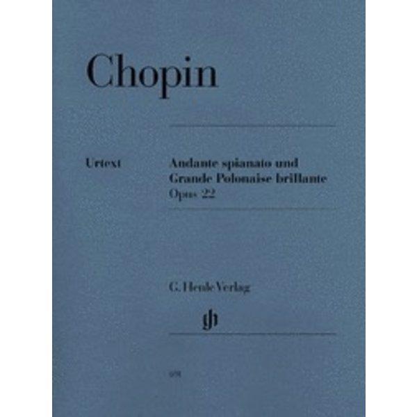 Henle Urtext Editions Chopin - Andante Spianato and Grande Polonaise Brillante E Flat Major Op. 22