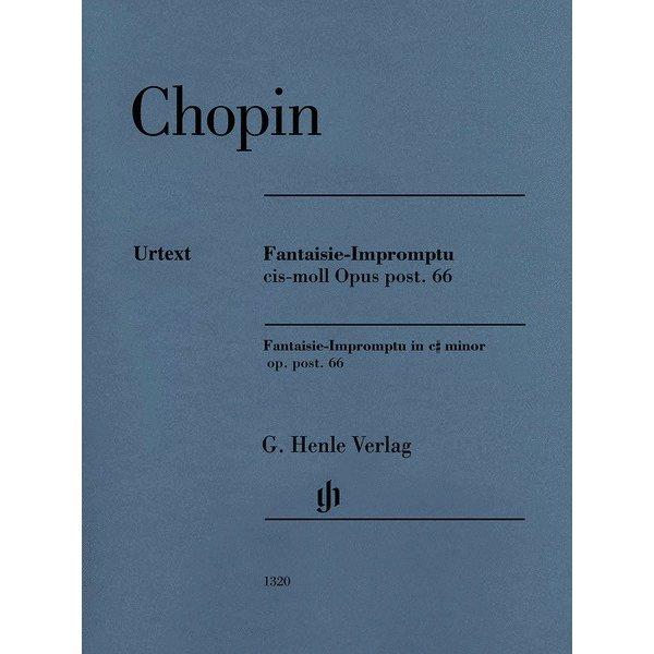 Henle Urtext Editions Chopin - Fantaisie-impromptu C-sharp Minor Op. Post. 66