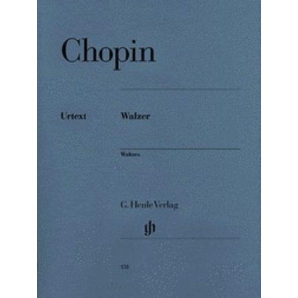 Henle Urtext Editions Chopin - Waltzes