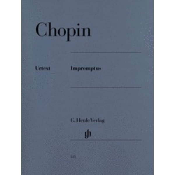 Henle Urtext Editions Chopin - Impromptus