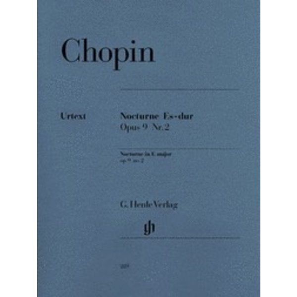 Henle Urtext Editions Chopin - Nocturne in E Flat Major Op. 9