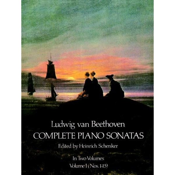 Dover Publications Complete Piano Sonatas, Volume I - Beethoven