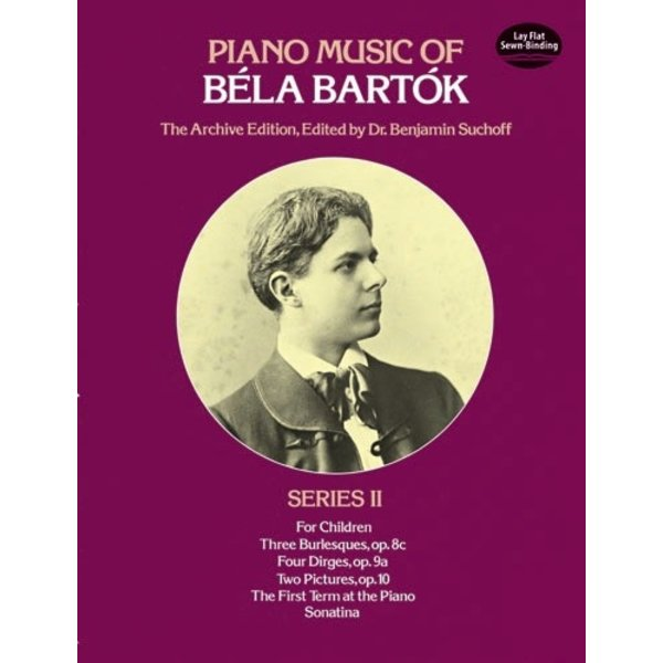 Dover Publications Piano Music of Béla Bartók, Series II