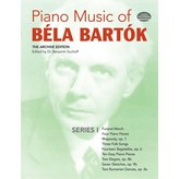 Dover Publications Piano Music of Béla Bartók, Series I: The Archive Edition