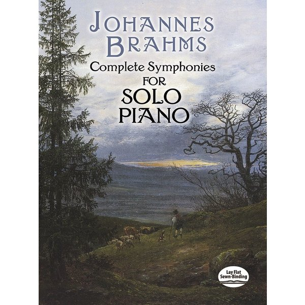 Dover Publications Brahms - Complete Symphonies for Solo Piano - Brahms