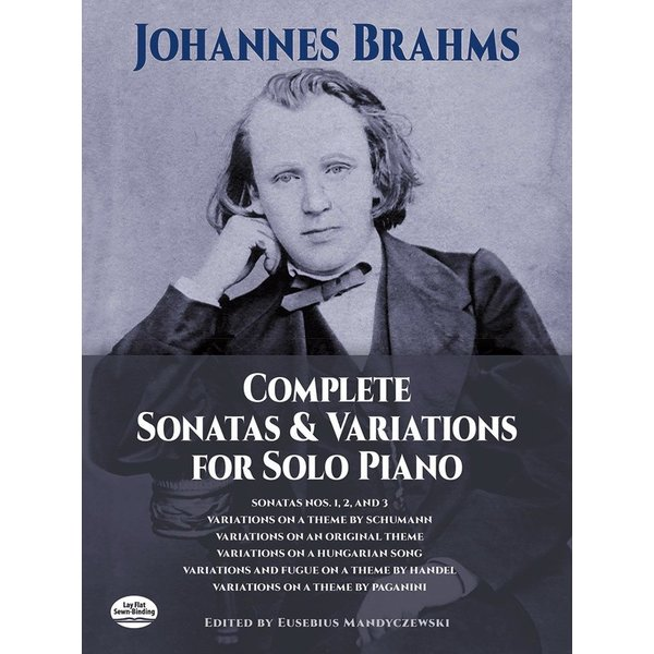 Dover Publications Brahms - Complete Sonatas and Variations for Solo Piano