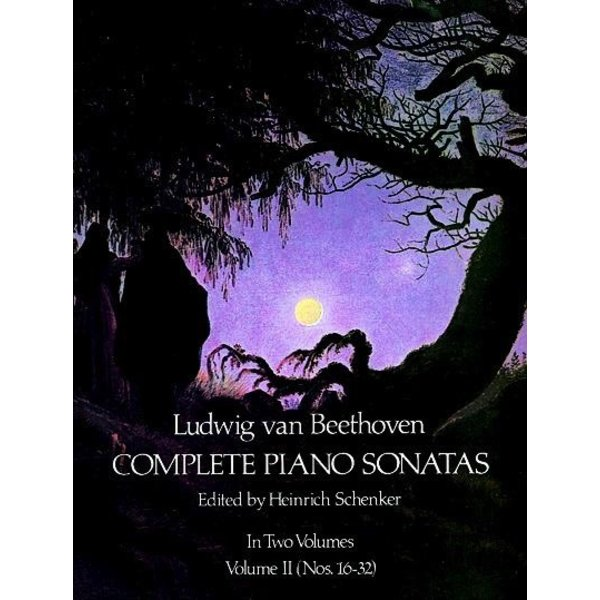 Dover Publications Complete Piano Sonatas, Volume II - Beethoven