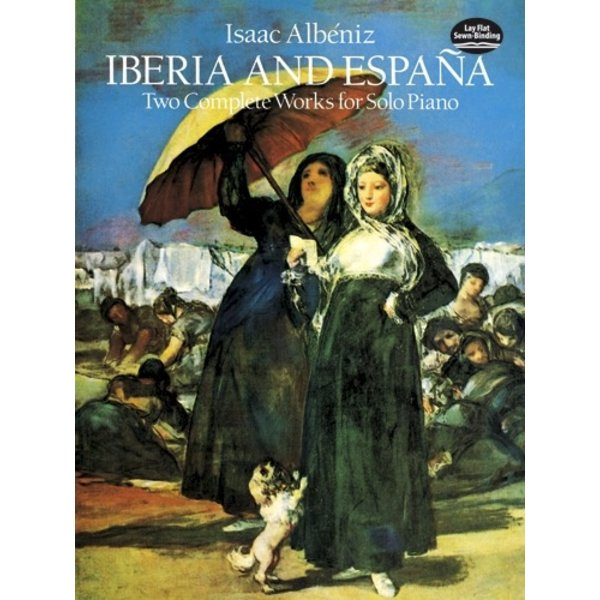 Dover Publications Albéniz - Iberia and España: Two Complete Works for Solo Piano