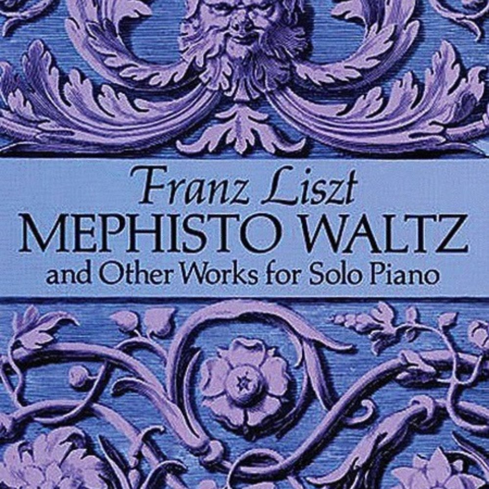 Dover Publications Mephisto Waltz and Other Works for Solo Piano - Liszt