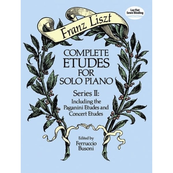 Dover Publications Complete Etudes for Solo Piano, Series II: Including the Paganini Etudes and Concert Etudes