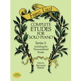 Dover Publications Complete Etudes for Solo Piano, Series I: Including the Transcendental Etudes -