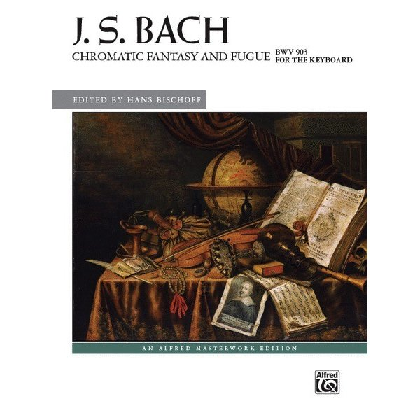 Alfred Music J.S. Bach - Chromatic Fantasy and Fugue, BWV 903