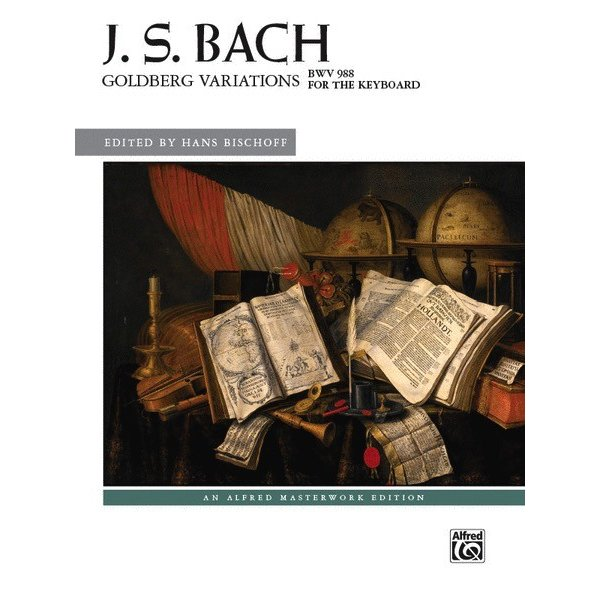 Alfred Music J.S. Bach - Goldberg Variations, BWV 988