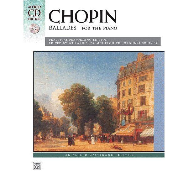 Alfred Music Chopin - Ballades Book & CD