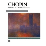 Alfred Music Chopin - Fantasy in F Minor, Opus 49