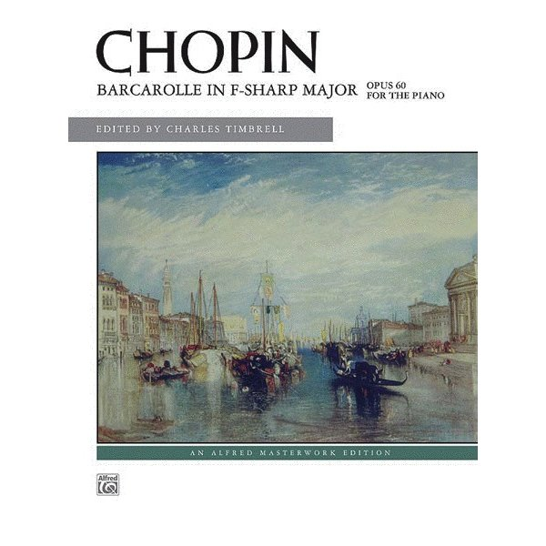 Alfred Music Barcarolle in F-sharp Major, Opus 60