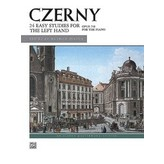 Alfred Music Czerny - 24 Studies for the Left Hand, Opus 718