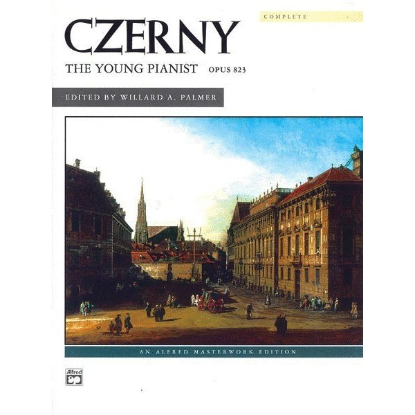 Alfred Music Czerny - The Young Pianist, Opus 823 (Complete)