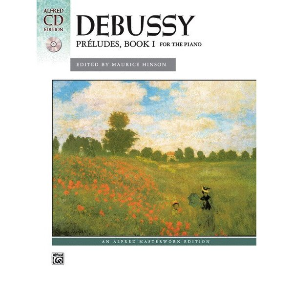 Alfred Music Debussy - Préludes, Book 1