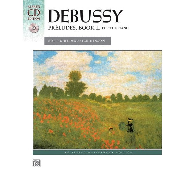 Alfred Music Debussy - Préludes, Book 2