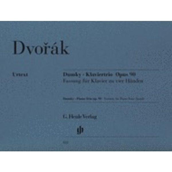 Henle Urtext Editions Dvorák - Dumky Piano Trio, Op. 90