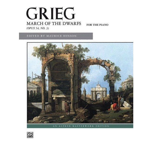 Alfred Music Grieg - March of the Dwarfs