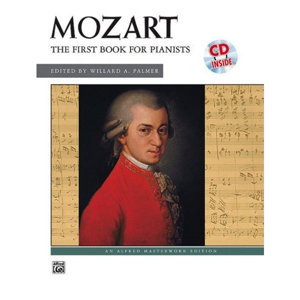 Alfred Music Mozart - First Book for Pianists Book & CD
