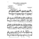 Alfred Music Ravel - Valses nobles et sentimentales