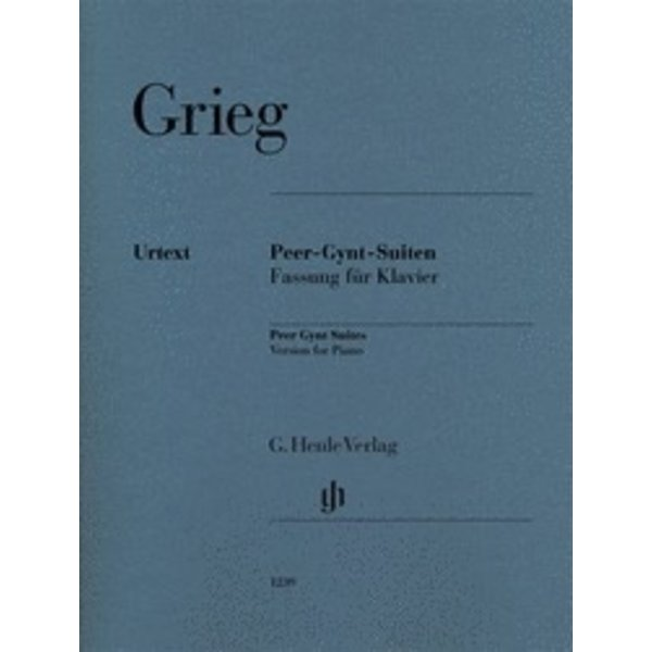 Henle Urtext Editions Grieg - Peer Gynt Suites