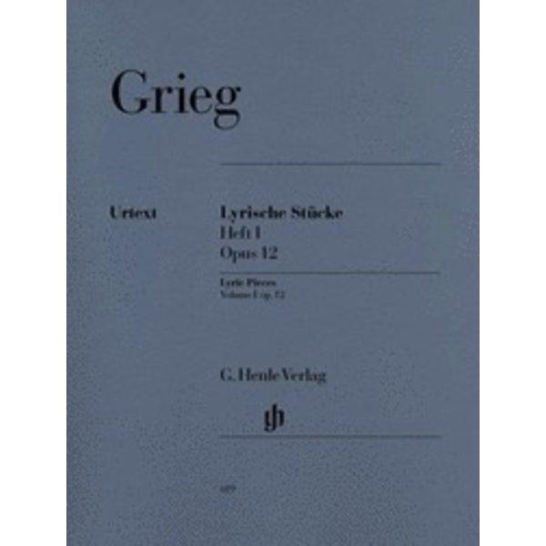 Henle Urtext Editions Grieg - Lyric Pieces, Volume I Op. 12