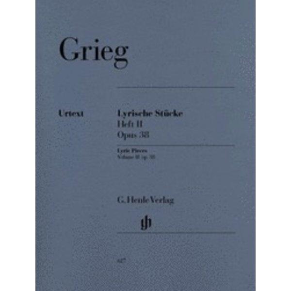 Henle Urtext Editions Grieg - Lyric Pieces, Volume II Op. 38