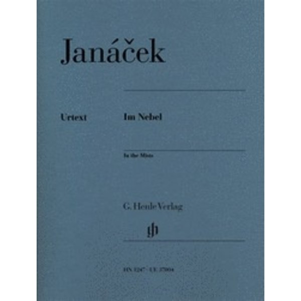 Henle Urtext Editions Henle Urtext - Jánacek - In the Mists Piano Solo