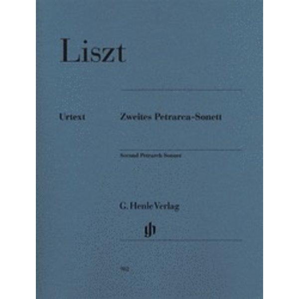 Henle Urtext Editions Liszt - Second Petrarch Sonnet