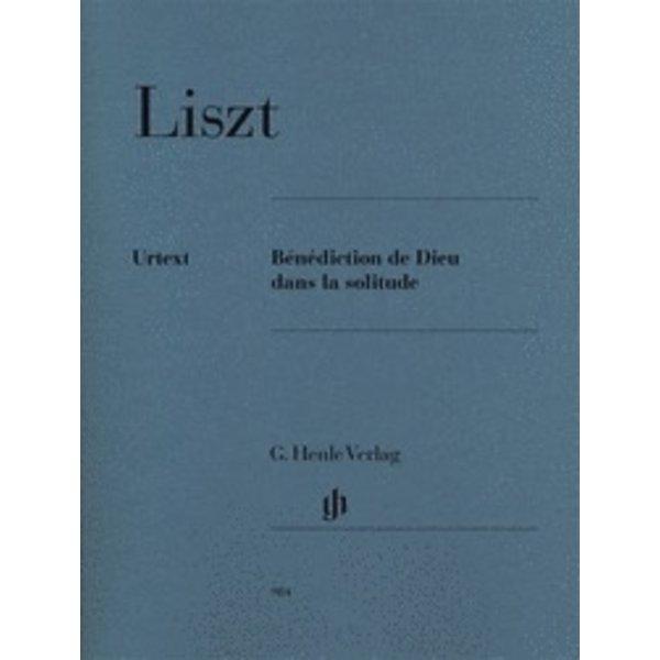 Henle Urtext Editions Liszt - Bénédiction de Dieu dans la solitude