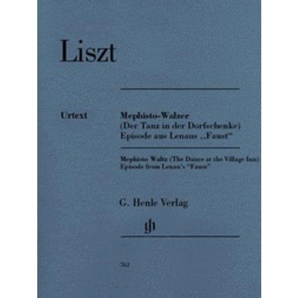 Henle Urtext Editions Liszt - Mephisto Waltz