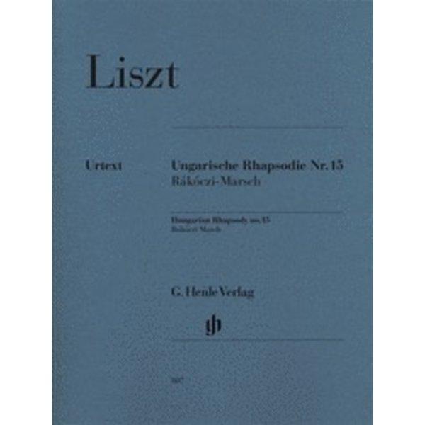 Henle Urtext Editions Liszt - Hungarian Rhapsody No. 15 (Rákóczi March)