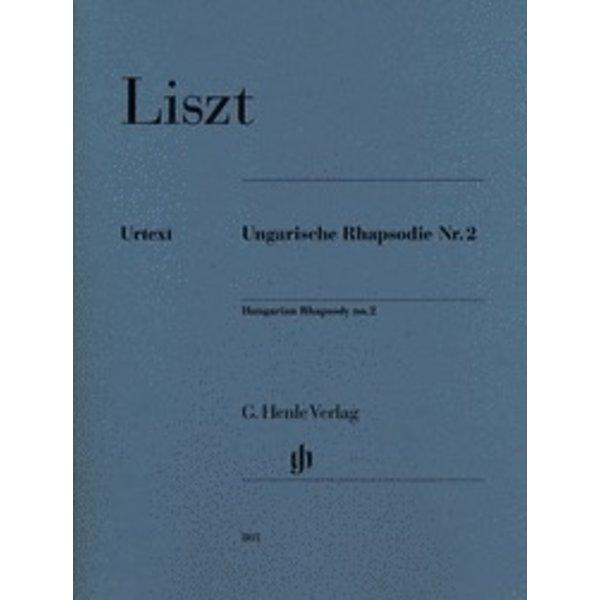 Henle Urtext Editions Liszt - Hungarian Rhapsody No. 2