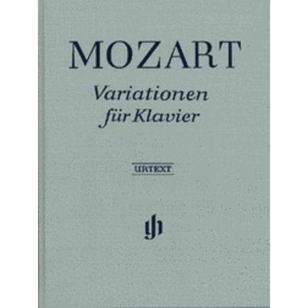 Henle Urtext Editions Mozart - Piano Variations Hardcover