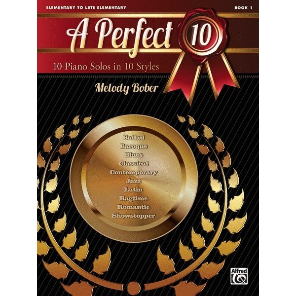 Alfred Music A Perfect 10, Book 1