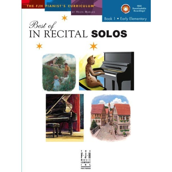 FJH Best of In Recital Solos, Book 1