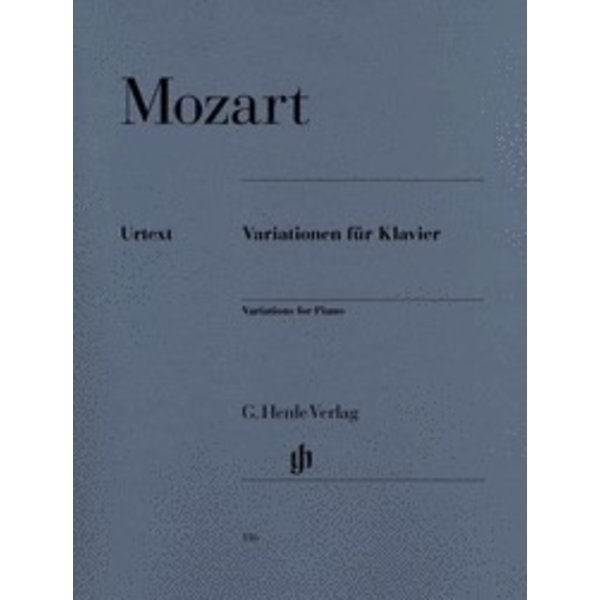 Henle Urtext Editions Mozart - Piano Variations