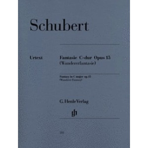 Henle Urtext Editions Schubert - Fantasy C Major Op. 15 D 760