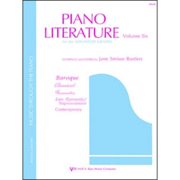 Bastien Piano PIANO LITERATURE, VOLUME 6