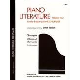 Bastien Piano Piano Literature, Volume 4