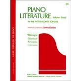Bastien Piano Piano Literature, Volume 3