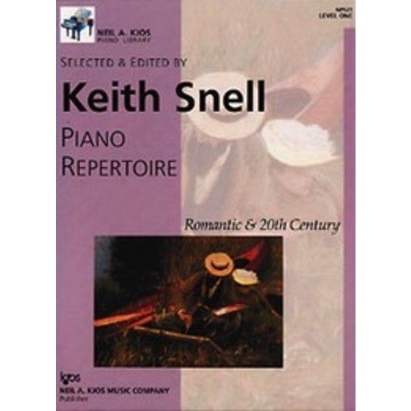Kjos Piano Repertoire: Romantic and 20th Century - Level 1