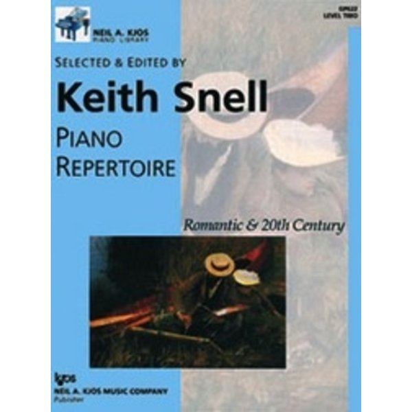 Kjos Piano Repertoire: Romantic and 20th Century - Level 2