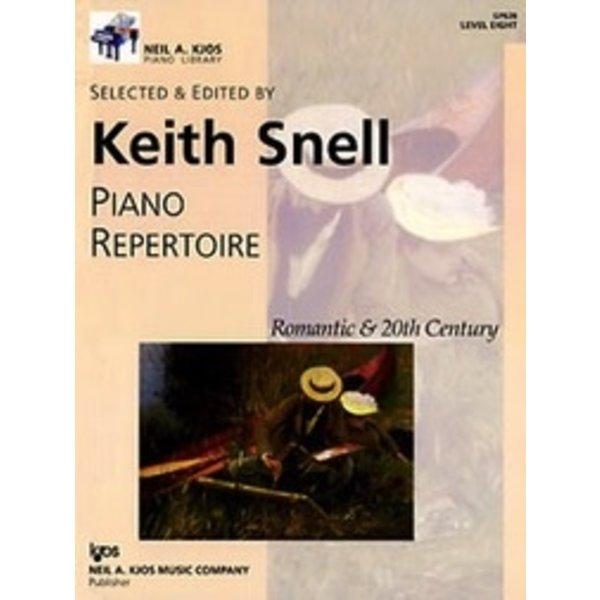 Kjos Piano Repertoire: Romantic and 20th Century - Level 8